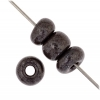 1/0 Rocaille 6.6mm Opaque Dark brown Lustered